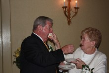 50th wedding anniversary - cake