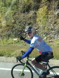Pat riding